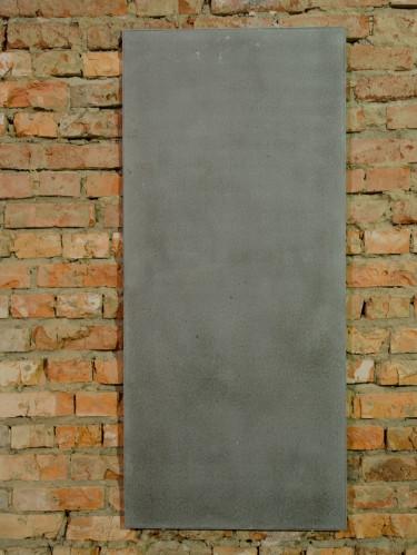 Стеновая интерьерная панель из бетона серая