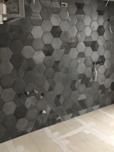 3Д плитка из бетона