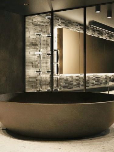 Ванна из бетона (бетонная ванная)