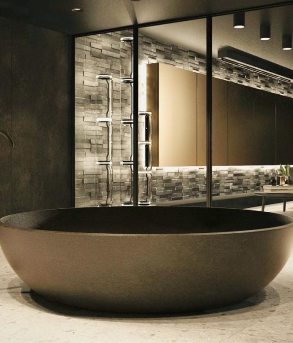 ванная из бетона купить