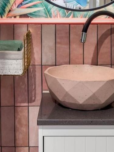 Накладная раковина из бетона «Гратис»