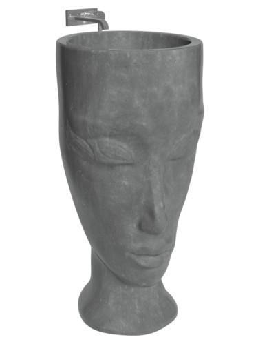 Раковина из бетона «Лицо»