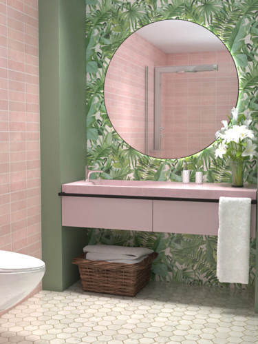 Подвесной комплект для ванной №11